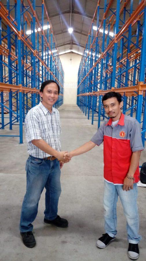 Jasa bongkar pasang rak pallet di Lampung