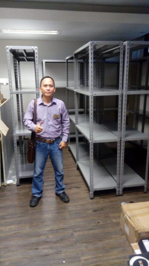 Jual Rak Besi Siku Standard Baru Murah di Bekasi