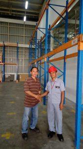 Jual Rak Gudang Heavy Duty Bekas Kondisi Baik Murah di Poris Gaga Baru Tangerang Hubungi 0812 92200677 / 087781016577