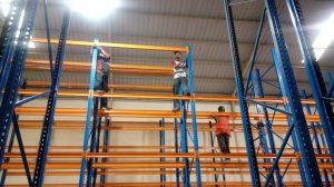 Jual Rak Gudang Heavy Duty Bekas Kondisi Baik Terlengkap di Mappi Hubungi 0812 92200677 / 087781016577