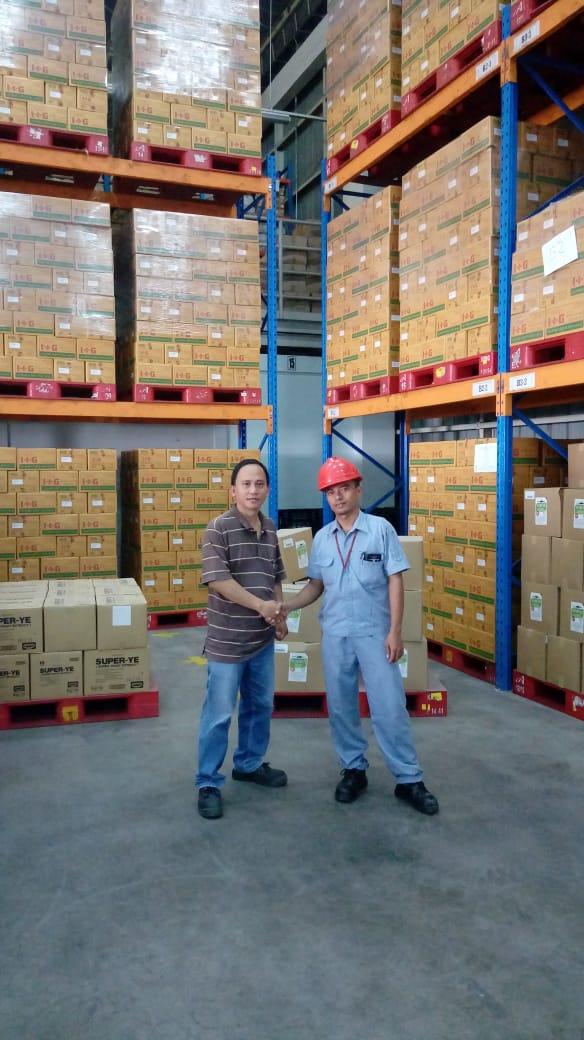 Jual Rak Gudang Heavy Duty Bekas Kondisi Baik Murah di Greged Cirebon Hubungi 0812 92200677 / 087781016577