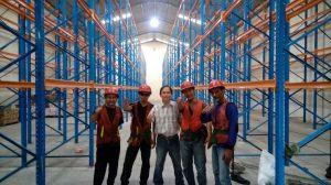 Jual Rak Gudang Heavy Duty Bekas Kondisi Baik Murah di Cipongkor Bandung Barat Hubungi 0812 92200677 / 087781016577