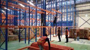 Jual Rak Gudang Heavy Duty Bekas Kondisi Baik Murah di Cikadu Cianjur Hubungi 0812 92200677 / 087781016577